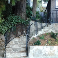 Wrought Iron Brentwood, Staircase