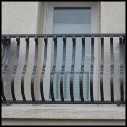 Wrought Iron Balcony, Walnut Creek